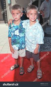 11jul99 actor twins cole dylan sprouse stock photo 99309983