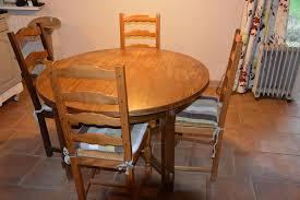 table ronde et chaises achetez table ronde 4 occasion annonce vente à condat 46