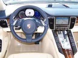 porsche panamera inside 2010 porsche panamera 4s in yachting blue with two tone leather