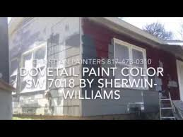 dovetail paint color sw 7018 by sherwin williams exterior samples