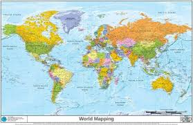 world maps custom made world maps map logic