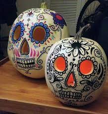 best 25 sugar skull pumpkin ideas on pinterest skull pumpkin