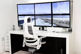 amazing office design alluring pc gaming setup cool office office