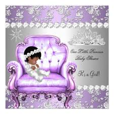 baby shower colors for a girl princess baby shower girl lavender silver chair card princess