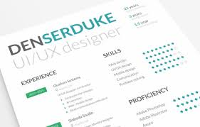 ui design cv 20 free resume design templates for web designers elegant themes blog