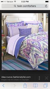 Teen Vogue Bedding Violet Comforter by 50 Best Bed Stuff Images On Pinterest 3 4 Beds Comforters And