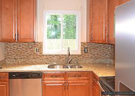 Brown Subway Travertine Backsplash Brown Cabinet by Brown Glass Stone Tile Santa Cecilia Countertop Backsplash Com