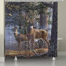 Whitetail Deer Shower Curtain 1000 Images About Vintage Octopus Shower Curtains On Pinterest