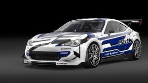 subaru brz gt300 body kit scion fr s race car roars into detroit with 600 hp