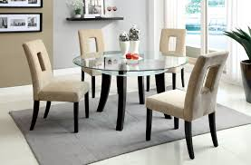 Round Dining Table With Glass Top Round Dining Table Set Modernmist Limited