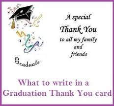 thank you cards for graduation thank you messages graduation