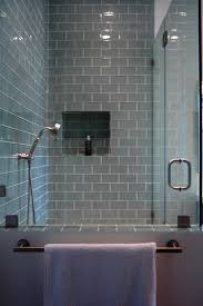 glass tile bathroom designs glass tile fireplace bathroom contemporary with river rock shower