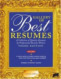 9781563701443 gallery of best resumes a collection of quality