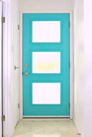 Exterior Door With Window A New Mid Century Modern Inspired Exterior Door Dans Le Lakehouse