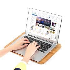 Laptop Knee Desk by Samdi Bamboo Laptop Tray Lap Desk Universal Cooling Stand Sales