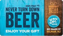 gift card distributors haus brewery gift card beachhaus