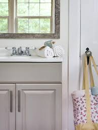 how to paint existing bathroom cabinets updating a bathroom vanity hgtv