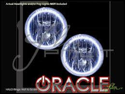 Led White Light Bulbs by Oracle 06 10 Hummer H3 Led Dual Color Halo Rings Fog Lights Bulbs