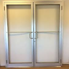 Exterior Door With Frame Commercial Exterior Doors With Glass Rogenilan Series Apartment