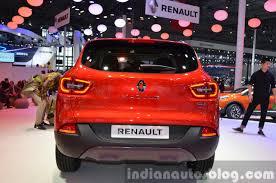 renault kadjar 2015 renault kadjar rear at auto shanghai 2015 indian autos blog