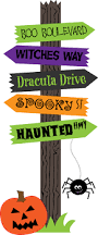 halloween sign clipart halloween signs halloween clipart and