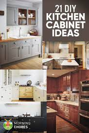 ideas to update kitchen cabinets 21 diy kitchen cabinets ideas plans that are easy cheap to build