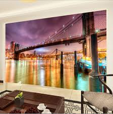 custom photo wallpaper modern city landscape living room tv custom photo wallpaper modern city landscape living room tv background wall mural non woven wallpaper city night in wallpapers from home improvement on