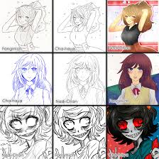 Switch Around Meme - switch around meme by nadi chan on deviantart