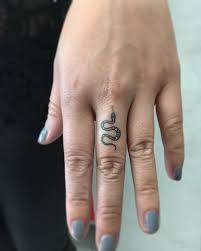 best 25 small snake tattoo ideas on pinterest finger tats