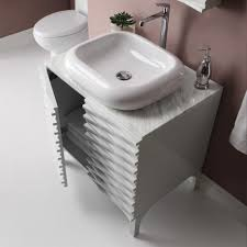 bathroom basin ideas modern bathroom sinks ideas features white marble wall mounted