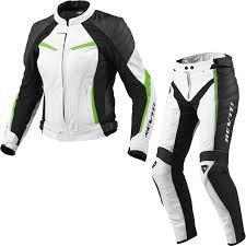 white motorcycle jacket rev it xena ladies motorcycle leather jacket pants white acid