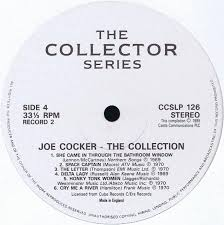 vinyl album joe cocker the collection castle communications uk