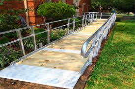 Wheelchair Ramp Handrails Wheelchair Ramps In Fort Worth Tx Next Day Access Of Fort Worth