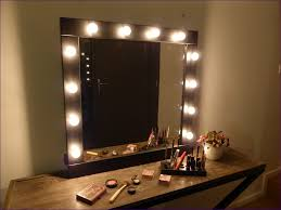 bedroom fabulous vanity table with lighted mirror
