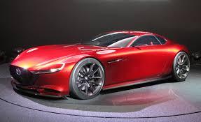 mazda maker mazda rx vision concept debuts in tokyo u2013 news u2013 car and driver