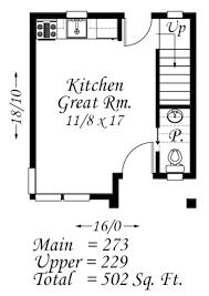 modern style house plan 1 beds 1 50 baths 502 sq ft plan 509 37