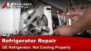 refrigerator repair u0026 diagnostic not cooling ge general