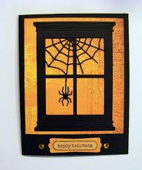 halloween picture frame crafts ann greenspan u0027s crafts grand madison window halloween cards