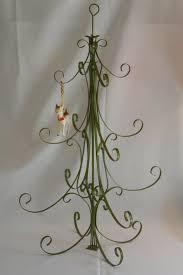 vintage metal tree table top ornament holder tree
