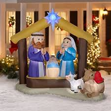 nativity yard decoration set 8 pcs