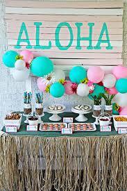 luau birthday party kara s party ideas hawaiian luau birthday party kara s party ideas