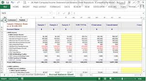Consolidated Balance Sheet Template Consolidated Profit Loss Balance Sheet And Flow Reports