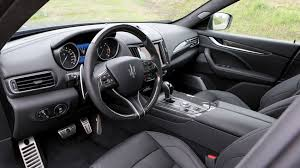 maserati inside 2016 maserati levante diesel 2016 review by car magazine