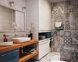 40 sqm modern small apartment interior design idea with a walk in