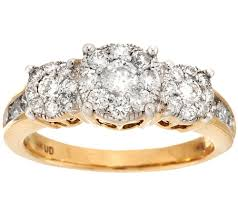 about diamond rings images 3 stone cluster design diamond ring 14k 1cttw by affinity page 102