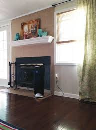 Can I Paint My Laminate Floor Painting And Re Painting A Tile Fireplace Cozy Crooked Cottage