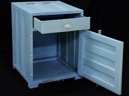 Schlafzimmer Schrank Container Container Schrank Nachttisch Im Industrielook 2048 Ebay