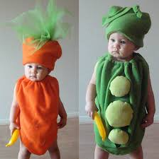 Pea Pod Halloween Costume Twin Peas Carrots Baby Toddler Costumes Holidays