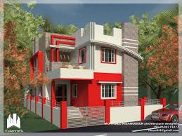 Indian Home Design 2bhk by North Indian Home Design Elevation