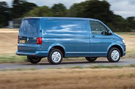 electric volkswagen van vw launches petrol powered transporter tsi models in the uk parkers